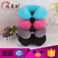 Custom inflatable travel neck pillow