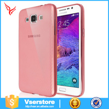 Factory cheap price Ultra thin silicone case for samsung G7200 TPU soft Phone case