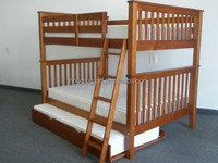 kids funky pull out bunk bed