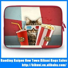 2015 hot sale waterproof printed bag for laptop tablet case 15 inches