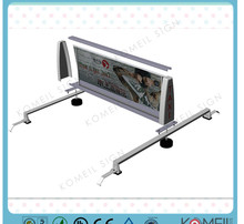 2014 new design taxi Top Advertising Light Box E1