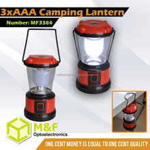 Emergency LED Lighting Battery Plastic A Camping Mini Lantern Compass