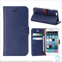 Folio PU leather case for Iphone 6 , For iphone 6 case leather