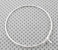 30mm Brass Wine Glass Charm Rings Small Silver Hoop Earrings Jewelry Parts