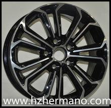 15 16 17 inch 17X7.5 4X108 5X108 5X114.3 alloy wheel rims