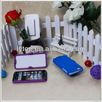 hard back pc cover case with belt for apple iphone5 5s