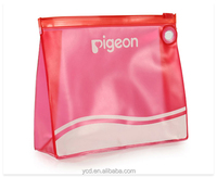 Fashion Clear PVC Travel Cosmetic Bag With Logo Printed