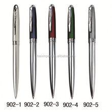 Latest popular metal multi-function promotional heart pens 902