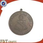 2015 venda quente barato antigo esporte prêmio medalha de metal personalizado