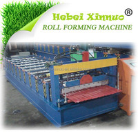 XN-910 Galvanised Roofing Making Machine ISO9001 Certificated