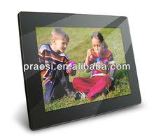 mirror face digital photo frame dpf / jpeg / mp3/wma / avi video playback /inductive function digital frame