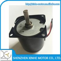 high torque 24V small ac synchronous motor