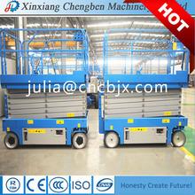 Latest Hydraulic man lift platform with 6- 14 m platform height