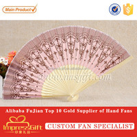 Customise chinese oriental hand fans for promotion gift