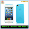 Ultra Thin 0.35mm Matte Finish Slim Fit Case Cover Skin For Apple iPhone 5 5S