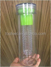 600ml Exquisite Fruit Bottles, BPA FREE with FIlter Tube
