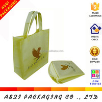 biodegradable custom logo printed cheap foldable promotional shopping non-woven bag