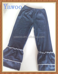 2015 kids denim jeans yiwu yawoo garments factory make baby boy pants winter thick children ruffle jeans pants trousers