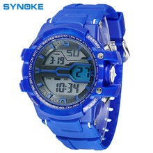 hight quality silicon men top brand synoke mens net watch live sports watch