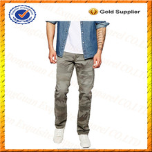 Custom 100% Cotton Camouflage Jeans/Wholesale Camo Jeans Men from Alibaba China