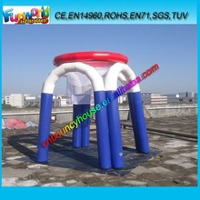 Inflatable sport game inflatable basketball shooting game/ outdoor hoops basketball inflatable game