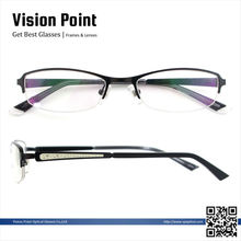 Wholesale new style 2014 metal half-rim spectacle eyeglasses frames for women