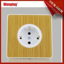 Free sample /promotion 2015 wonplug newest CE/ROHS 2014 newly developed wall mounted power outlet socket