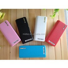 2015 new design mobile portable power bank wallet design mini