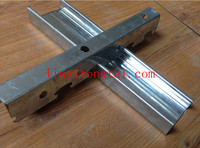 Hot-dipped Galvanized steel building material V type channel