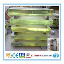bright surface x ray protective lead glass for CT room
