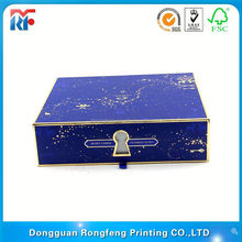 chest shape cosmetic box with pull-out drawer