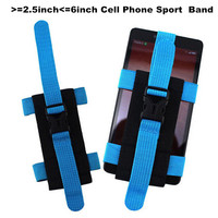 New Universal Running Sport Armband Gym Arm band Case For iPhone 6 plus For Samsung S6 Cell Mobile Phone Belt Strap