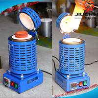 JC-K-220-2 220V 4kg Jewelry Gold Melting Electrical Furnace