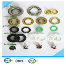 2015 best quality best price of metal eyelets for shoes for leather /metal eyelets for curtains