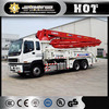 Widely used China XCMG HB37A 37m diesel concrete mixer pump price