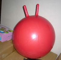 Handle (55cm) Red Jumping Ball Hopper Bouncing Hop