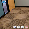 DBJX Cheap PP carpet tiles, interlocking carpet tiles, decorative office carpet tiles