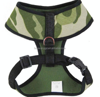 Firm camouflage jeans large dog harness
