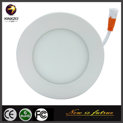 6w SMD surface mounted Round Led Panel Light with CE Approval