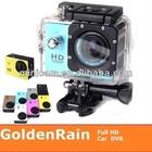 1080p full hd impermeável sport sj4000 câmera