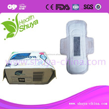 Women hygienic products active oxygen and anion sanitary napkin