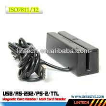 High quality 3 tracks 90mm ISO7811 msr into it card reader
