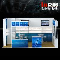Incase Aluminum construction trade show display exhibition booth