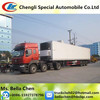 30-40tons refrigerated truck trailer , refrigerated cargo trailer sale