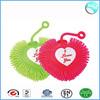 Valentine's day love heart flashing puffer ball