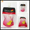 Top Level Newest Laminated Spout Pouch For Juice Drinking