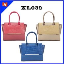Latest model handbags bags raw materials for handbags leather tota bag