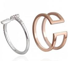 097405 rings women 24 carat gold finger ring