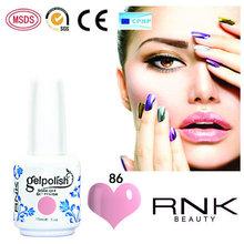 RNK 15ml liquid nail polish wonderful shining colors uv gel polish