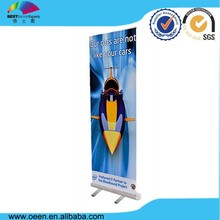 Custom Advertising Pet Printing Advertising Roll Up Banner For Sports